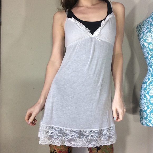 Victoria's Secret Other - Victoria's Secret Sheer Lace Nighty